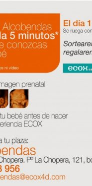 5 minutos gratis de ecografía 4D en Ecox