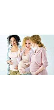 tres embarazadas