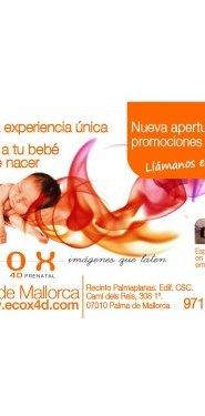 Ganadora sorteo Ecox4D Palma de Mallorca Mothercare