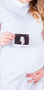 embarazada con foto