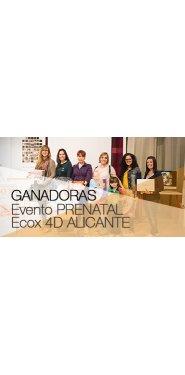 Ganadoras del Evento en Prenatal