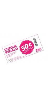 cheque regalo 50€