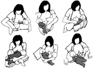 amamantar gemelos
