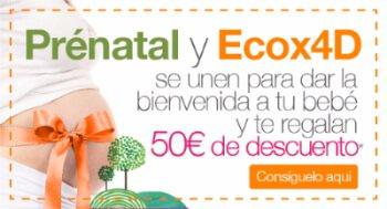 Consigue 50€ de descuento en Prénatal con tu ecografía 4D
