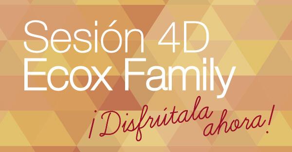 Nace Ecox Family, la sesión con más emoción de Ecox 4D