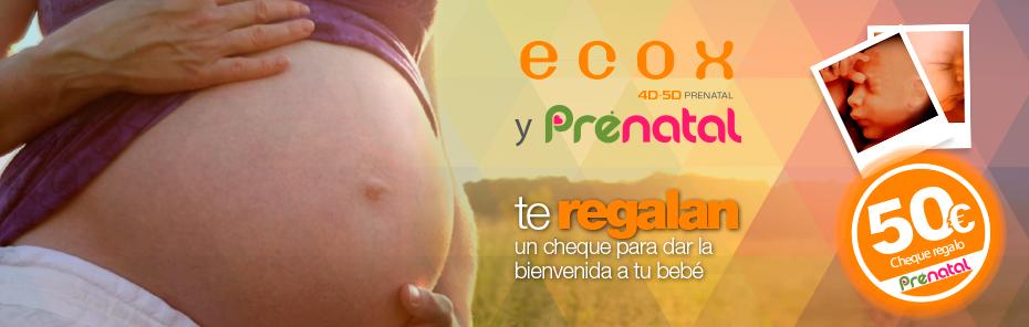 Ecox 4D-5D y Prénatal dan la bienvenida a tu bebé