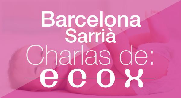 Charlas embarazo mayo 2017 Barcelona-Sarria