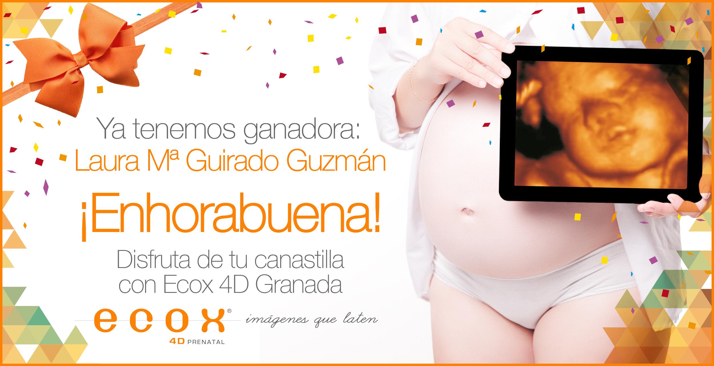 Ecox Granada - Sorteo Ganadora Promo Aniversario ganadora