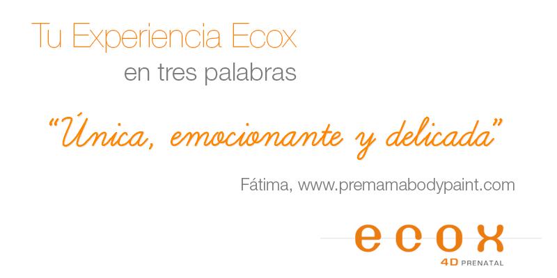 Experiencia Ecox4d Premamabodypaint Fatima